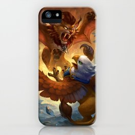 Pet Battle iPhone Case