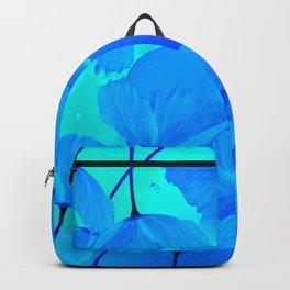 Poppies In Aqua Color #decor #society6 #buyart Backpack
