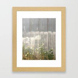 Side/walk Framed Art Print