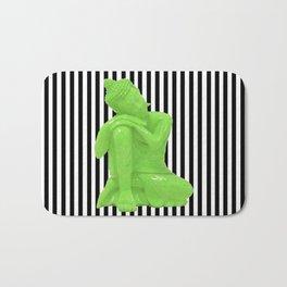My  inner Green Buddha | Namaste Pop Art Buddha Bath Mat