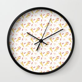 Dragonfly Chill Pattern Wall Clock