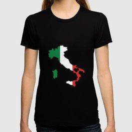 Love Italy Gift Italian Pride Heart T-shirt