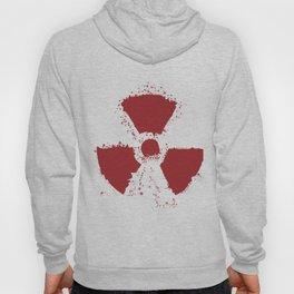 Splatter Radioactive Warning Symbol Hoody