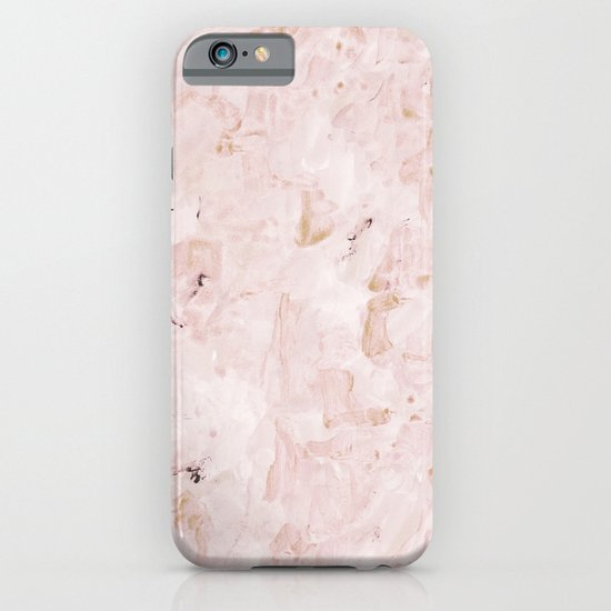 abstract-soft pink iPhone & iPod Case