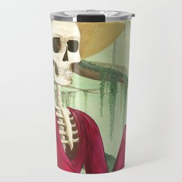 Jane Austen La Catrina Travel Mug