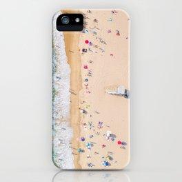 Beach Aerial iPhone Case