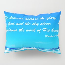 Psalm 19 Pillow Sham