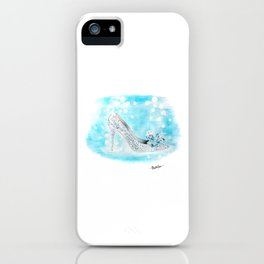 Cinderella Shoes iPhone Case