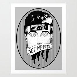Set Me Free Art Print