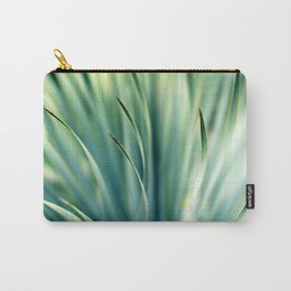 Spiked Leaves on a Slant Carry-All Pouch
