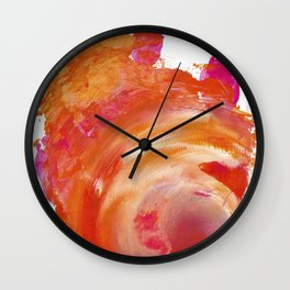 OrPink Galaxy Wall Clock