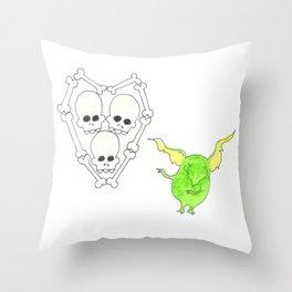 Goblin Valentine Throw Pillow