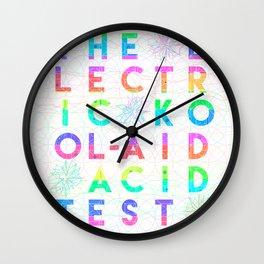 Electric Kool-Aid Acid  Test Wall Clock