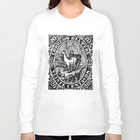 peru Long Sleeve T-shirts featuring Correos del Peru by RubenBer