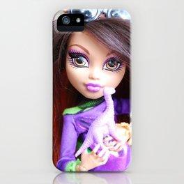 Monster High: Howleen Wolf custom from The Blank Flank iPhone Case