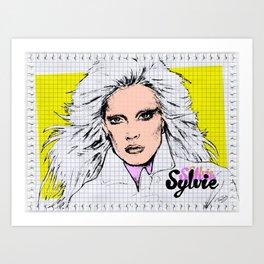 Sylvie revient! Art Print