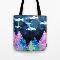 bats Tote Bags featuring bats by Itsybats
