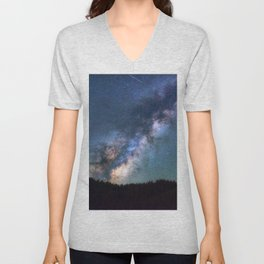 Milky Way I Unisex V-Neck