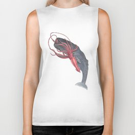 Squid and Whale Biker Tank