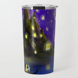 Tangled Lights  Travel Mug