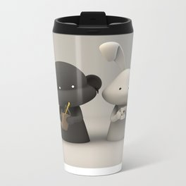 Coffee & Chocolate Milk Metal Travel Mug