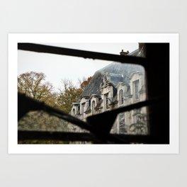Château des singes - urbex Art Print