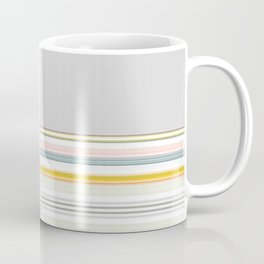 Mix Match Yellow Multi Pattern Coffee Mug