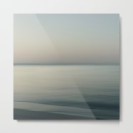 Tranquility by the sea Metal Print