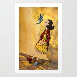 Pan's Labyrinth - the End Art Print