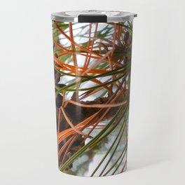 Pine Cone in Pine Tree Travel Mug