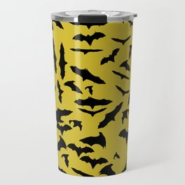 Bats Ceylon Yellow Travel Mug