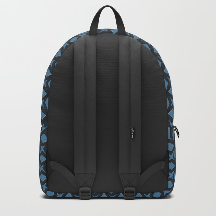 Blue Black Replay Backpack