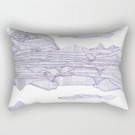 Going in Circles. Rectangular Pillow