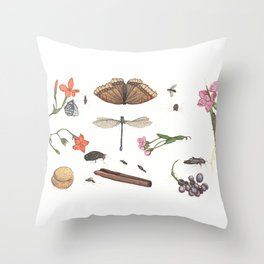 Common place miracles -Natural History Part V Throw Pillow