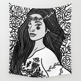 floral elf shay Wall Tapestry