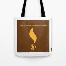 No175 My Games Hunger minimal movie poster 1 Tote Bag