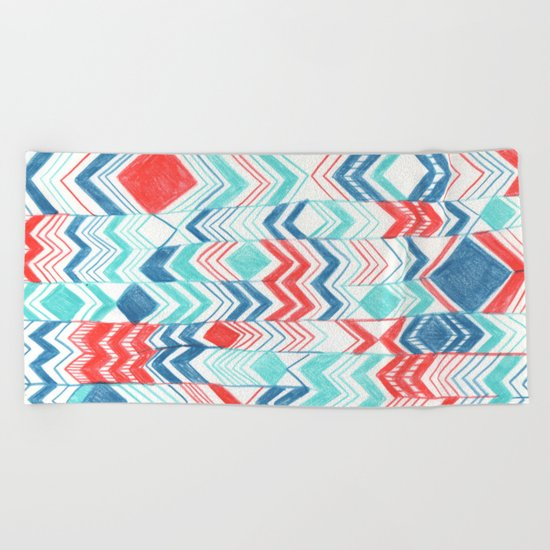 Pattern 31 Beach Towel