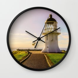 Lighthouse at the Top Wall Clock
