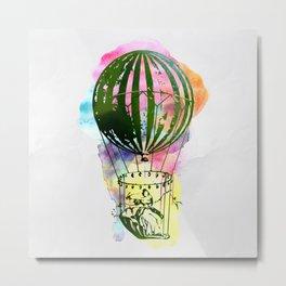 AP110 Hot air baloon Metal Print