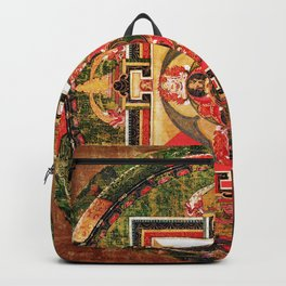Buddhist Mandala Jungian Archetype Backpack