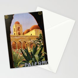 Vintage poster - Palermo Stationery Cards
