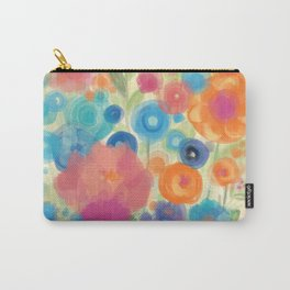 Flower Power Garen by Odette Lager Carry-All Pouch