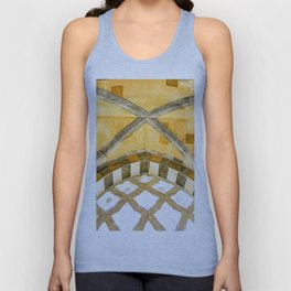 The Golden Arches of the Amalfi Cathedral in Amalfi, Italy Unisex Tank Top
