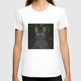 A warrior cat T-shirt