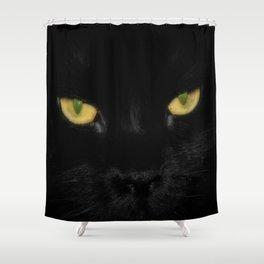 These Eyes Shower Curtain