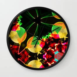 Flying saucers Wall Clock
