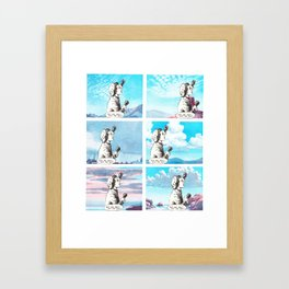 advanced eleutheromania Framed Art Print