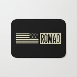 ROMAD (Black Flag) Bath Mat