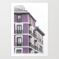 madrid Art Prints featuring madrid by mirenphotography