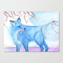 Karma Fox Canvas Print